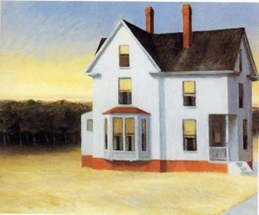 """Cape Cod Sunset"" by Edward Hopper."